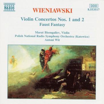 Wieniawksi violin concertos