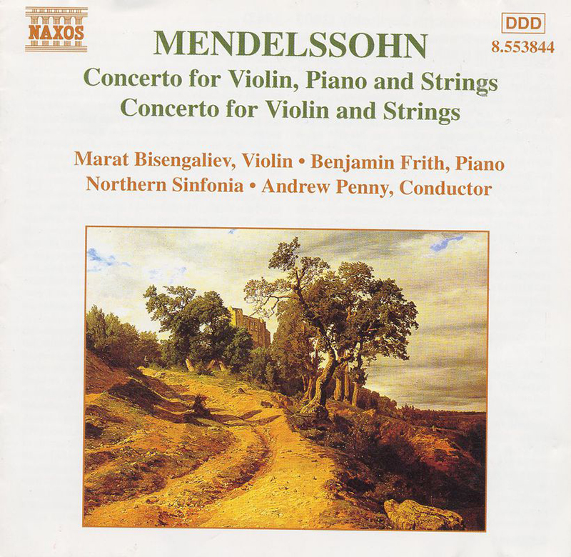 Mendelssohn violin concertos